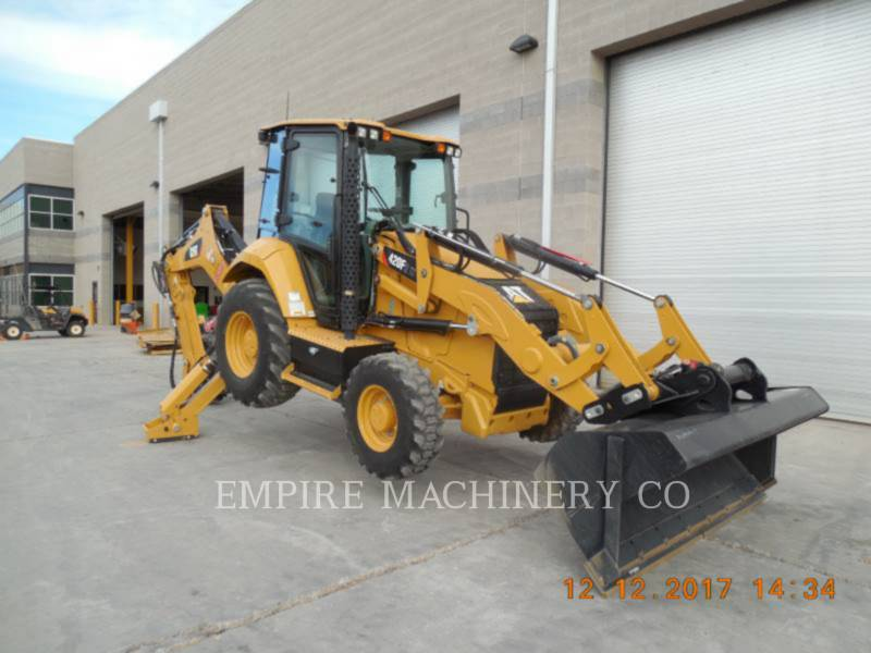 CATERPILLAR BACKHOE LOADERS 420F2 HRC equipment  photo 1