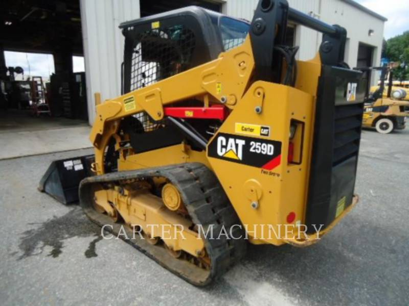 CATERPILLAR CHARGEURS COMPACTS RIGIDES 259D CYW equipment  photo 3