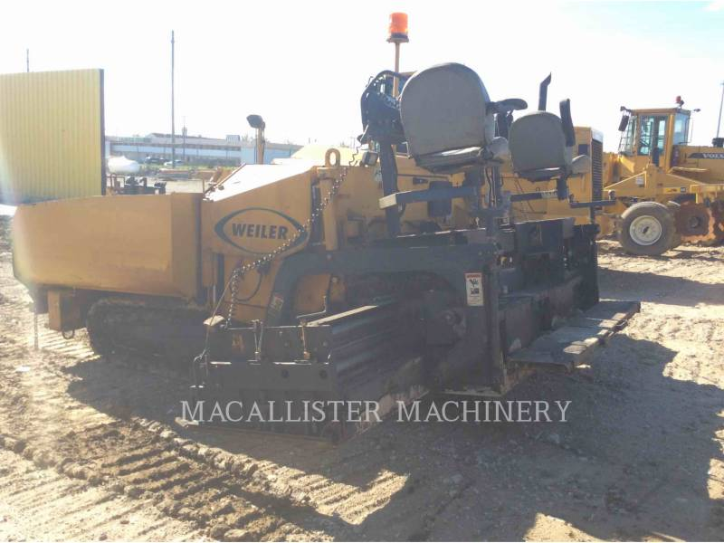 WEILER BETONIERE DE ASFALT P385 equipment  photo 12