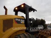 CATERPILLAR VIBRATORY SINGLE DRUM PAD CP54B equipment  photo 13