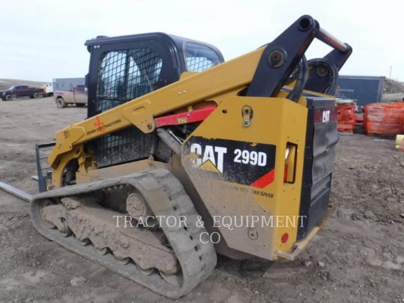 CATERPILLAR DELTALADER 299D equipment  photo 5