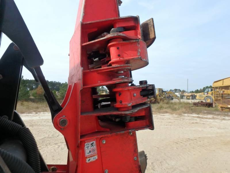 CATERPILLAR EXPLOITATION FORESTIÈRE - ABATTEUSES-GROUPEUSES - SUR PNEUS 563C equipment  photo 9