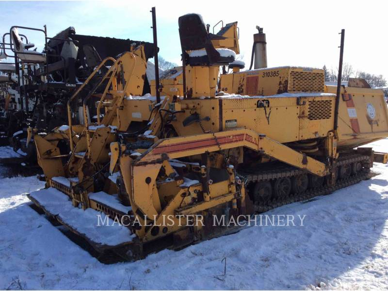 BLAW KNOX/INGERSOLL-RAND BETONIERE DE ASFALT PF-510 equipment  photo 4