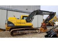 Equipment photo VOLVO EC210BNLC KETTEN-HYDRAULIKBAGGER 1