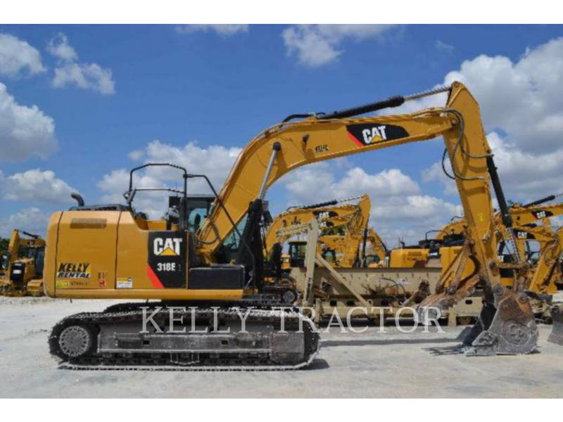 CATERPILLAR トラック油圧ショベル 318EL equipment  photo 1