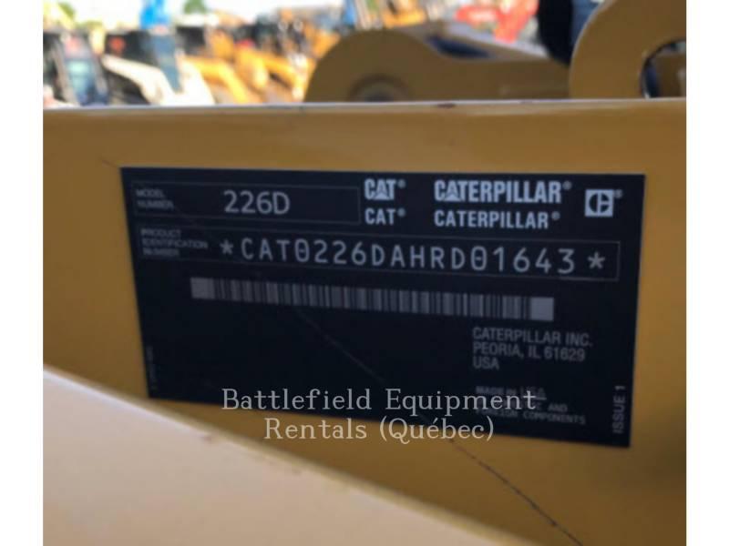 Caterpillar MINIÎNCĂRCĂTOARE RIGIDE MULTIFUNCŢIONALE 226D equipment  photo 11
