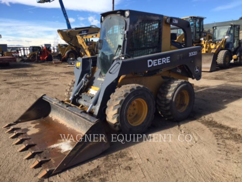 DEERE & CO. CHARGEURS COMPACTS RIGIDES 332D equipment  photo 1