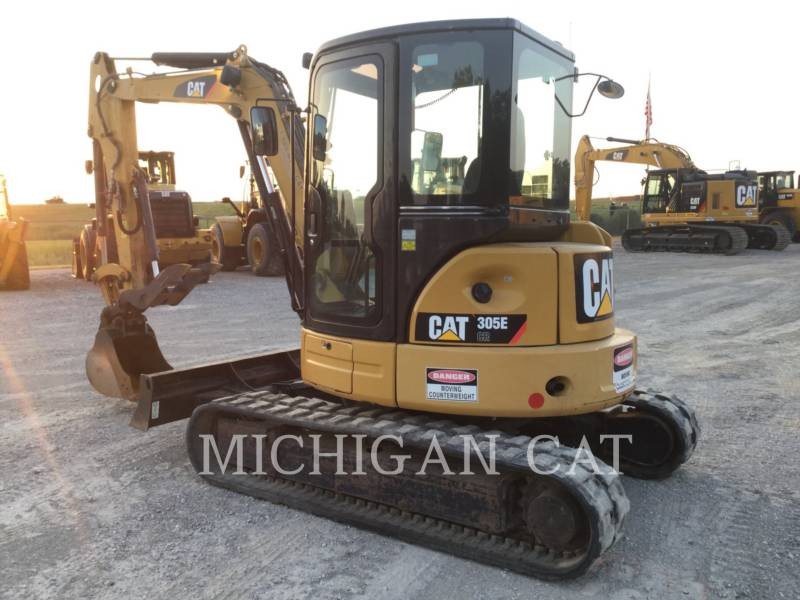 CATERPILLAR KETTEN-HYDRAULIKBAGGER 305ECR ATQ equipment  photo 2