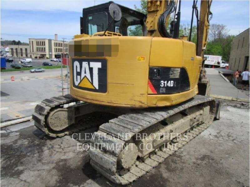 CATERPILLAR TRACK EXCAVATORS 314DLCR equipment  photo 5