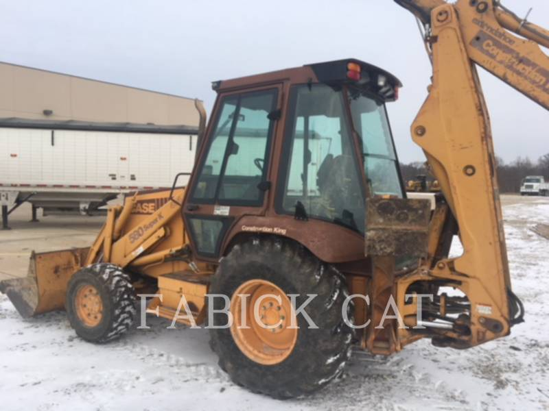 CASE BACKHOE LOADERS 580SK equipment  photo 4