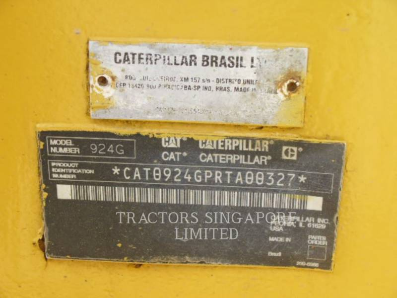 CATERPILLAR RADLADER/INDUSTRIE-RADLADER 924GZ equipment  photo 17