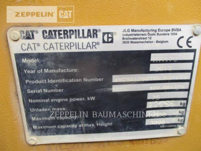 CATERPILLAR TELESKOPSTAPLER TH417C equipment  photo 9