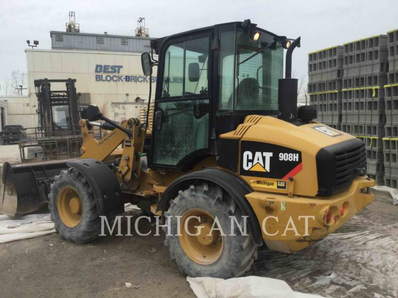 CATERPILLAR WHEEL LOADERS/INTEGRATED TOOLCARRIERS 908H C equipment  photo 6