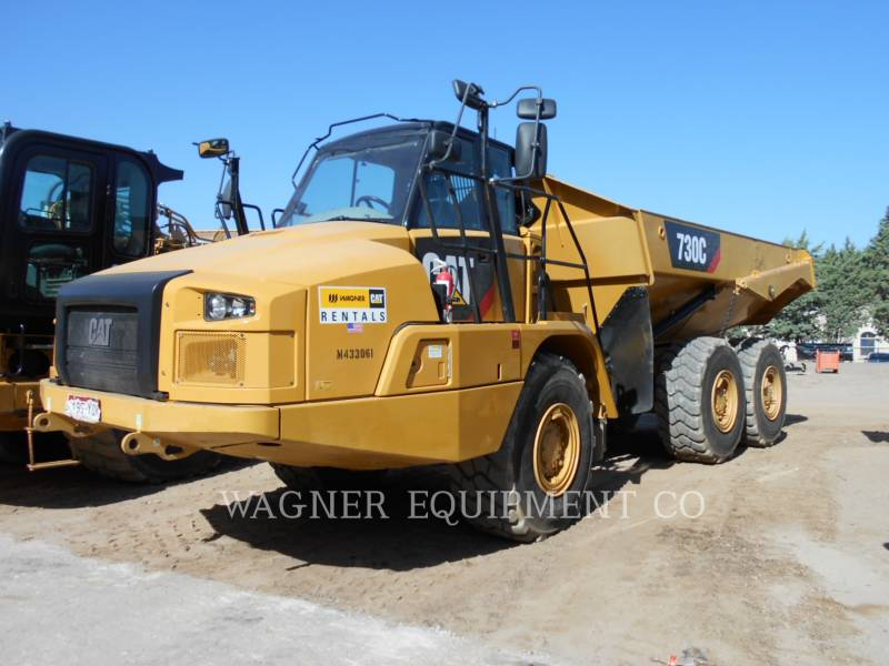 CATERPILLAR ARTICULATED TRUCKS 730C equipment  photo 1