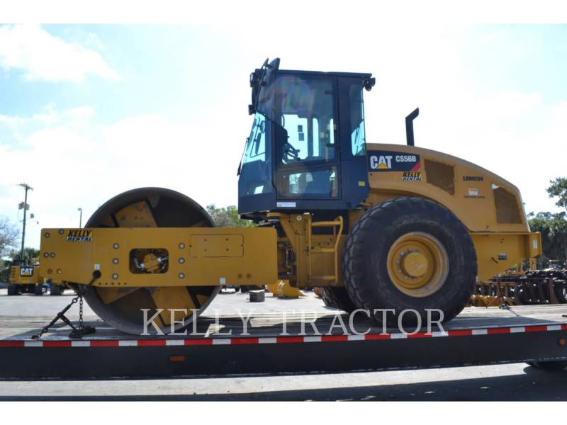 CATERPILLAR COMPACTEUR VIBRANT, MONOCYLINDRE LISSE CS56B equipment  photo 5