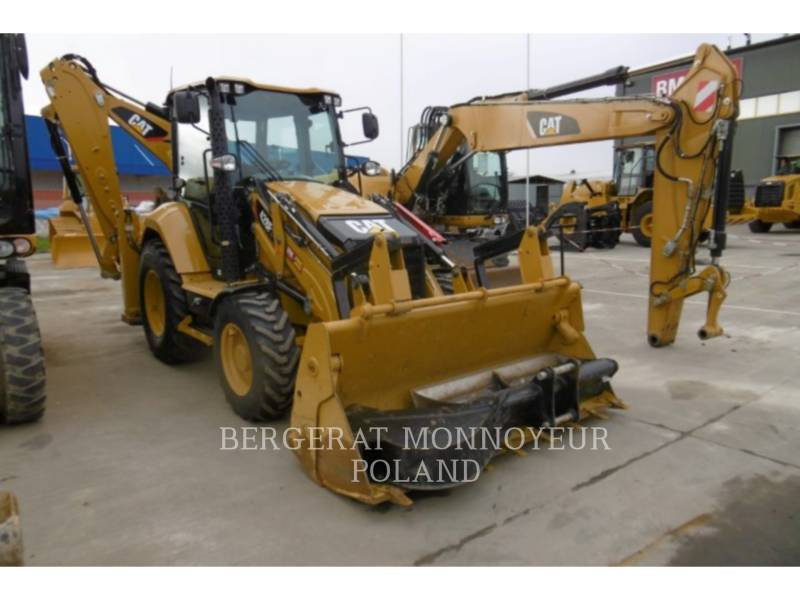 CATERPILLAR CHARGEUSES-PELLETEUSES 428F2 equipment  photo 6