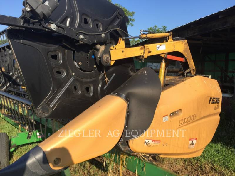 LEXION COMBINE HEADERS F535 equipment  photo 1