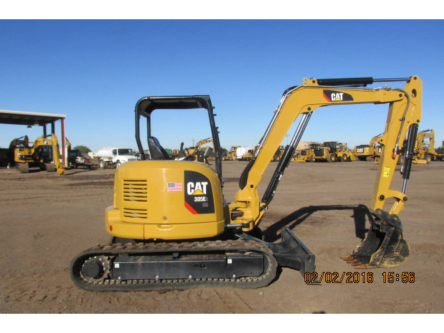 Used 2015 Caterpillar 305e2cr For Sale Walker Cat