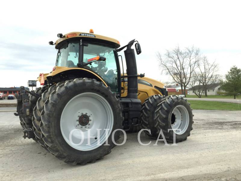 AGCO-CHALLENGER TRACTEURS AGRICOLES MT665D equipment  photo 8