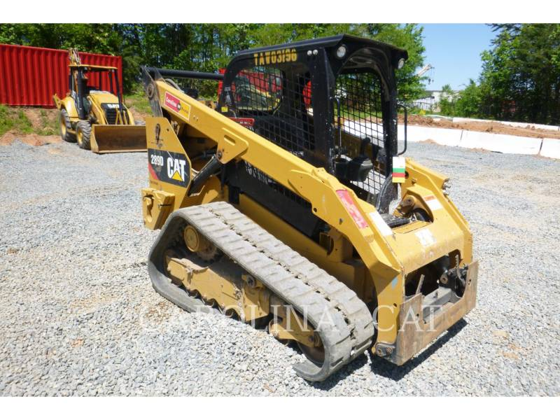 CATERPILLAR CARGADORES DE CADENAS 289D equipment  photo 6