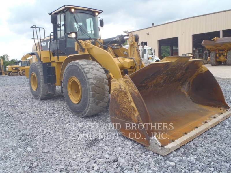CATERPILLAR RADLADER/INDUSTRIE-RADLADER 966K equipment  photo 2