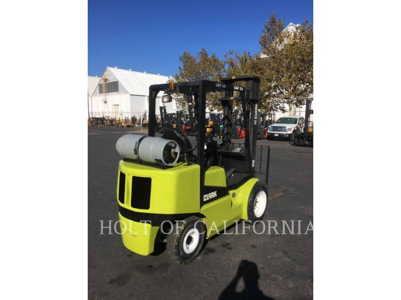 CLARK EQUIPMENT FORKLIFTS CGP30 equipment  photo 2