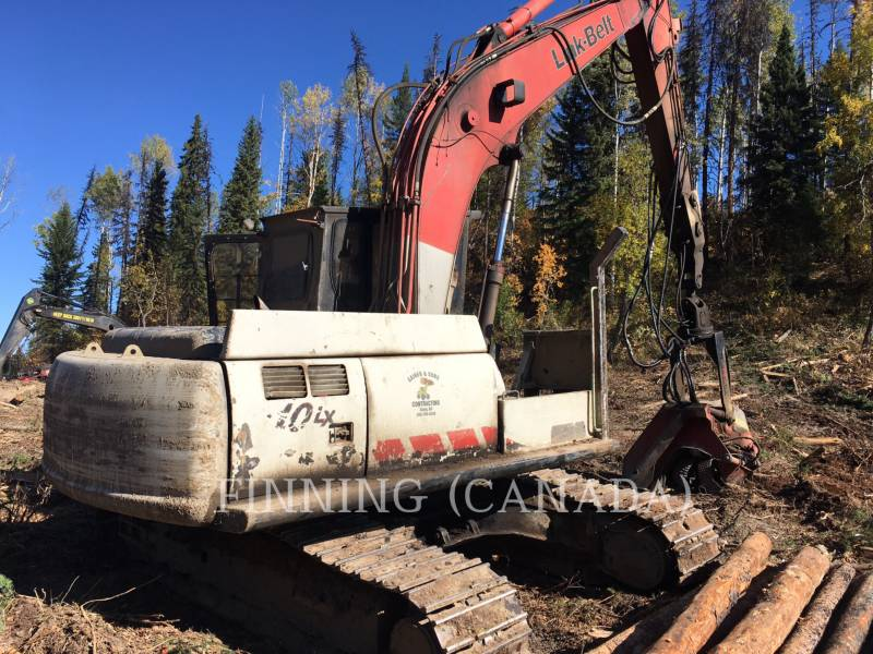 LINK-BELT CONST. FORESTRY - PROCESSOR 210LX equipment  photo 1