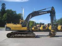 Equipment photo VOLVO CONSTRUCTION EQUIP BRASIL EC240 CNL トラック油圧ショベル 1