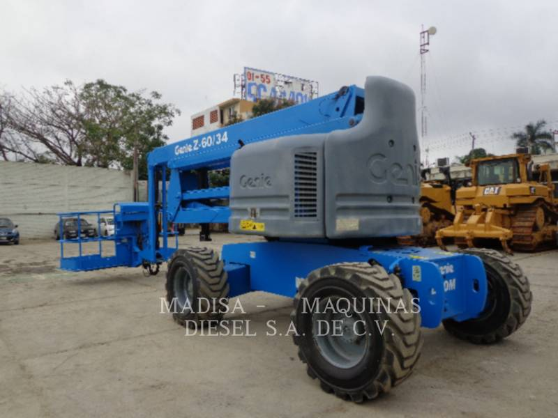 GENIE INDUSTRIES AUSLEGER-HUBARBEITSBÜHNE Z60/34J RT equipment  photo 4