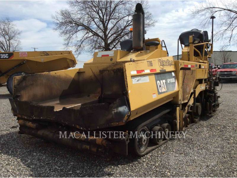 CATERPILLAR PAVIMENTADORA DE ASFALTO AP-1055D equipment  photo 1