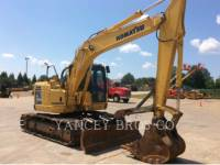 Equipment photo KOMATSU PC138 TRACK EXCAVATORS 1