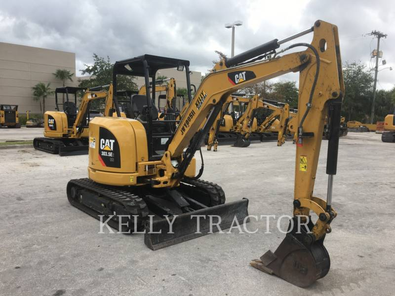 CATERPILLAR EXCAVADORAS DE CADENAS 303.5E2CR equipment  photo 7