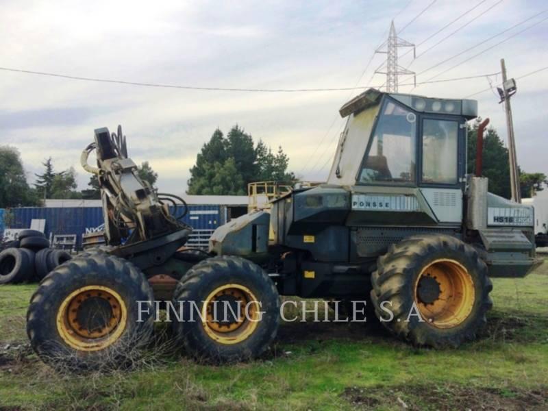 PONSSE FORESTRY - FELLER BUNCHERS - WHEEL ERGO HS16 equipment  photo 1