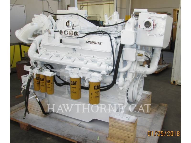 CATERPILLAR MARINE PROPULSION / AUXILIARY ENGINES 3412C DITA equipment  photo 6
