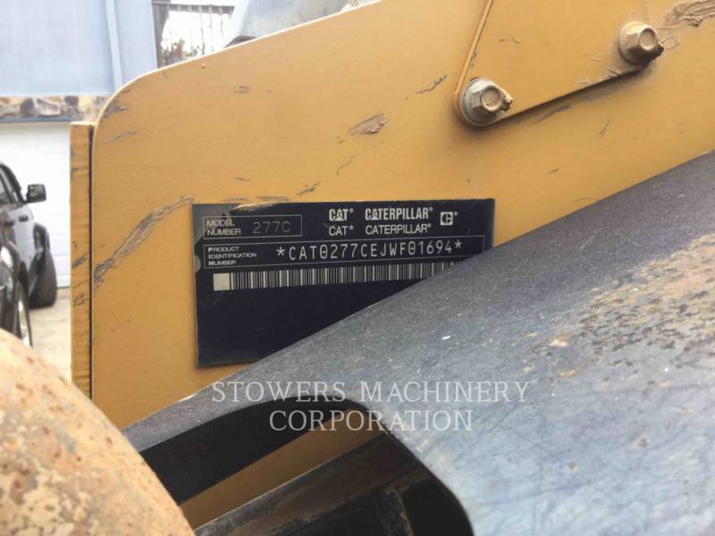 CATERPILLAR MULTI TERRAIN LOADERS 277C equipment  photo 6