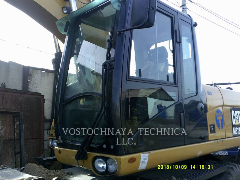 Caterpillar EXCAVATOARE PE ROŢI M318D equipment  photo 6