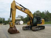 Equipment photo CATERPILLAR 329FL KETTEN-HYDRAULIKBAGGER 1