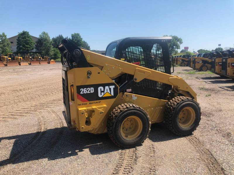 CATERPILLAR PALE COMPATTE SKID STEER 262D equipment  photo 8