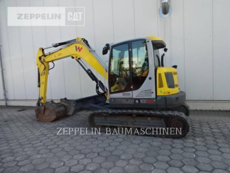 WACKER CORPORATION TRACK EXCAVATORS EZ80 equipment  photo 4