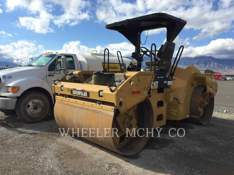 CATERPILLAR COMPACTEURS TANDEMS VIBRANTS CB64 equipment  photo 1