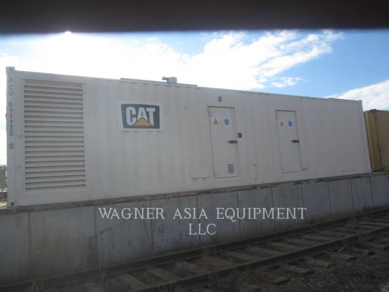 GENSET STATIONARY GENERATOR SETS CAT3512B equipment  photo 1