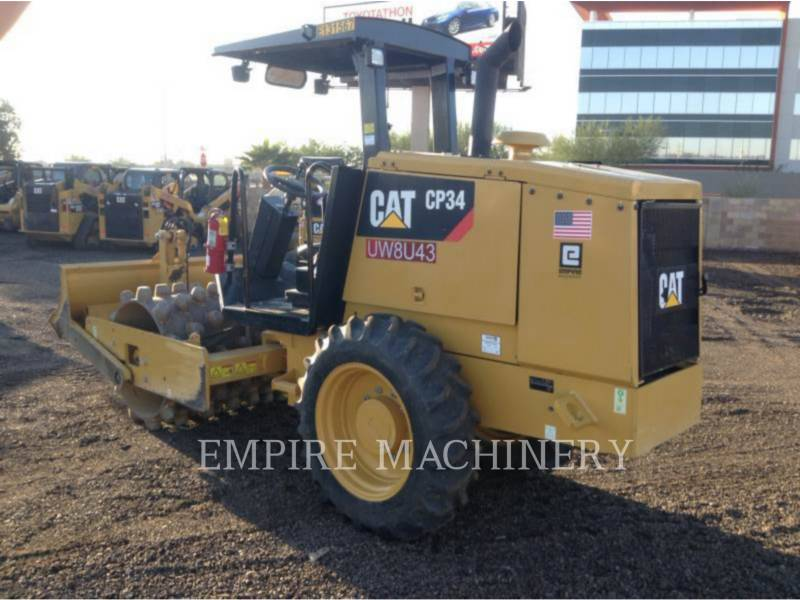 CATERPILLAR SOPORTE DE TAMBOR ÚNICO VIBRATORIO CP34 equipment  photo 3
