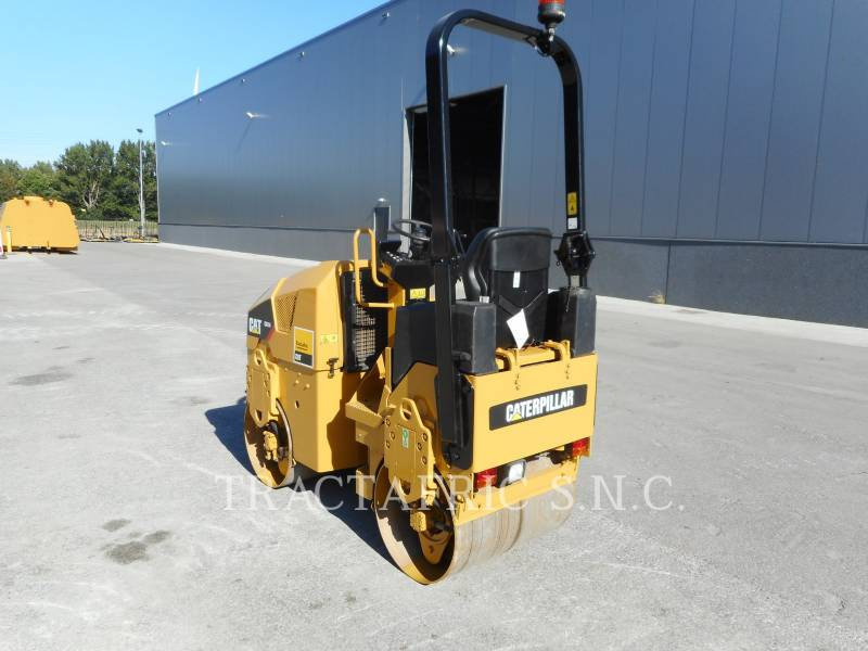 CATERPILLAR TAMBOR DOBLE VIBRATORIO ASFALTO CB14 equipment  photo 4