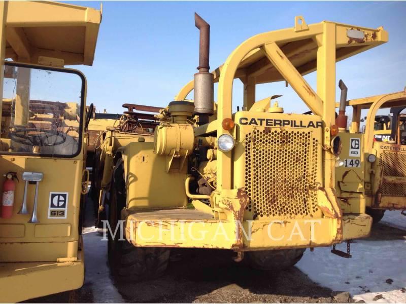 CATERPILLAR WHEEL TRACTOR SCRAPERS 613 equipment  photo 3