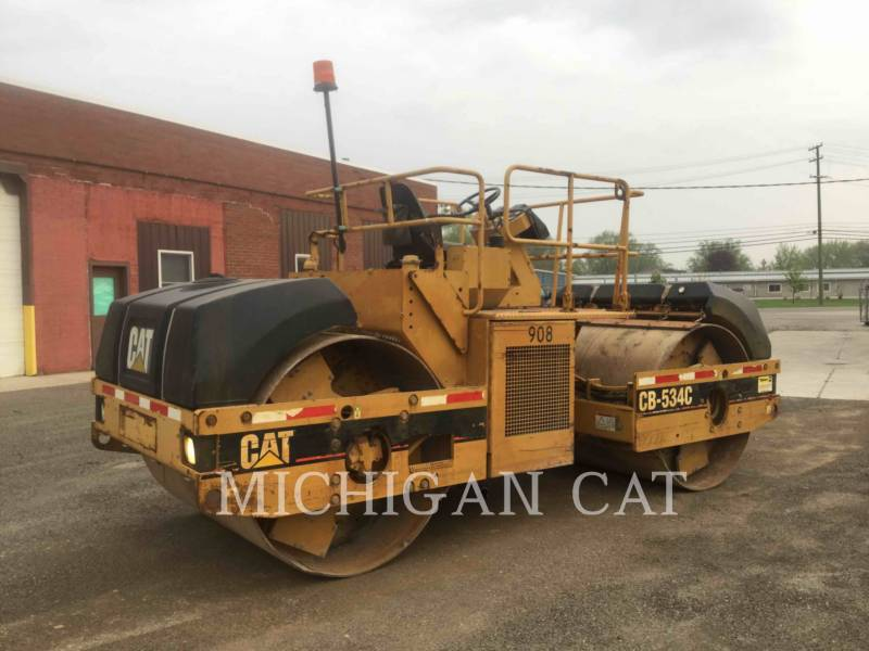CATERPILLAR TAMBOR DOBLE VIBRATORIO ASFALTO CB-534C equipment  photo 2