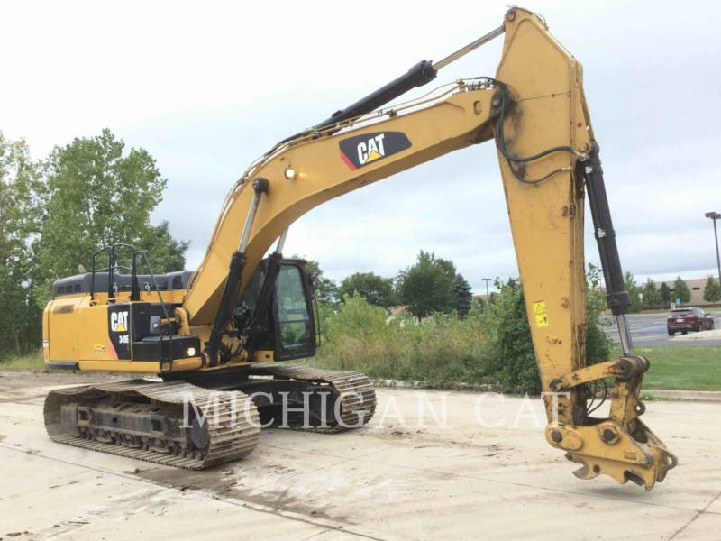CATERPILLAR PELLES SUR CHAINES 349EL equipment  photo 2
