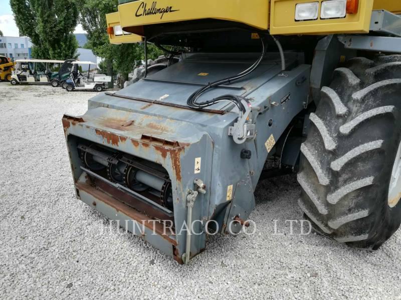 CHALLENGER コンバイン 654 equipment  photo 15