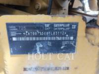 CATERPILLAR アーティキュレートトラック 725 equipment  photo 5