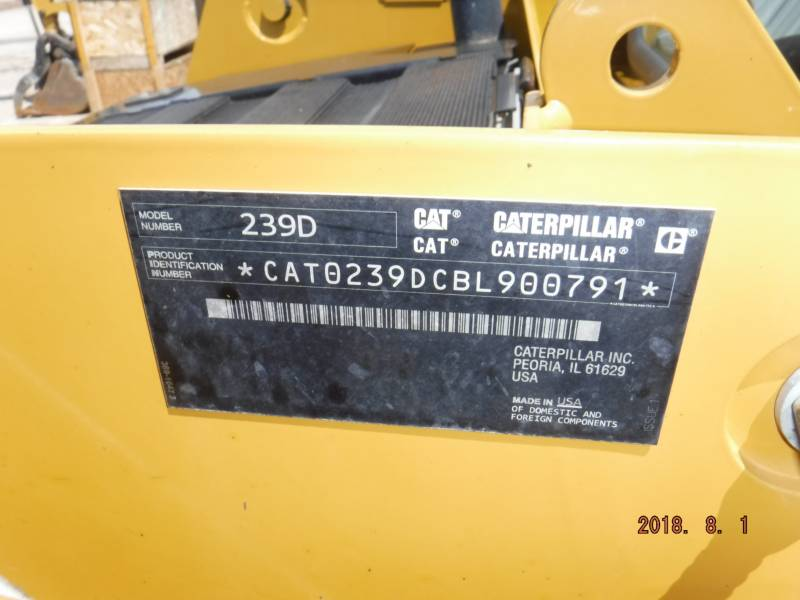 CATERPILLAR MULTI TERRAIN LOADERS 239D equipment  photo 14