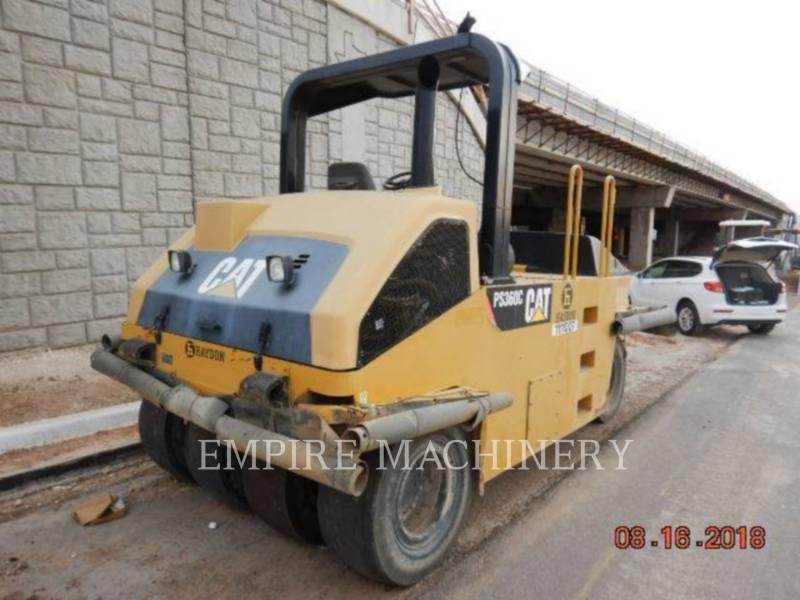 CATERPILLAR PNEUMATIC TIRED COMPACTORS PS-360C equipment  photo 2